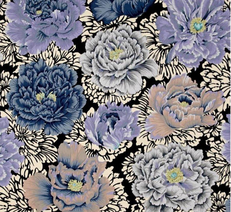 FreeSpirit Fabrics Kaffe Fassett Collective Brocade Peony - Grey