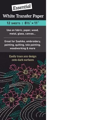 Essential White Transfer Paper - 12 sheet package