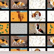Charley Harper Backyard Dogs