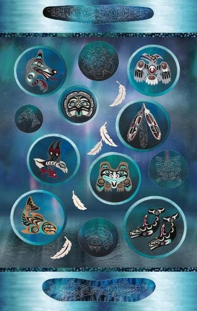 Salish 2020 Wool Applique Kit Complete 12 Block of the Month Package
