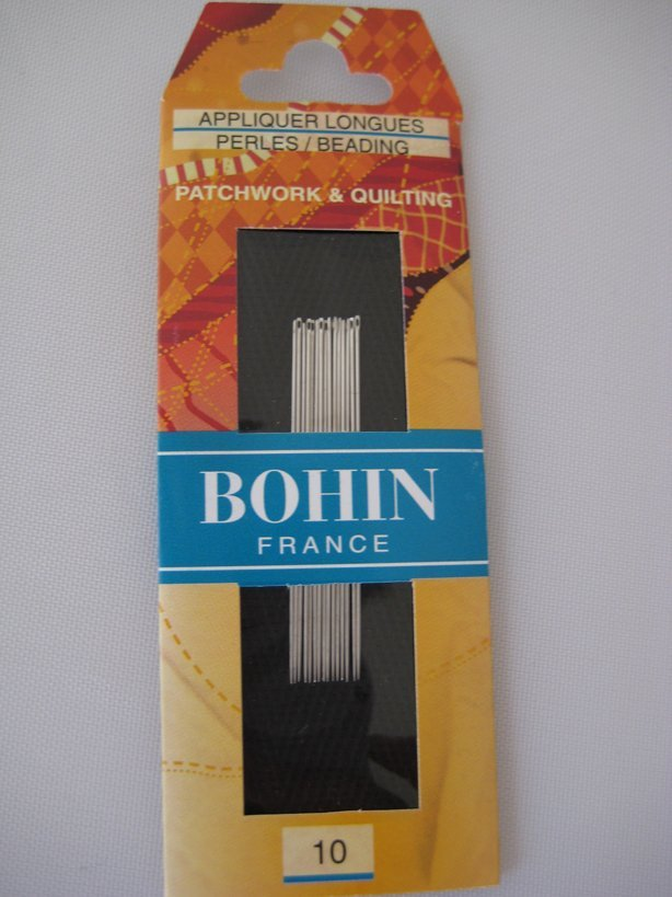 Bohin Applique Long #10 Needles