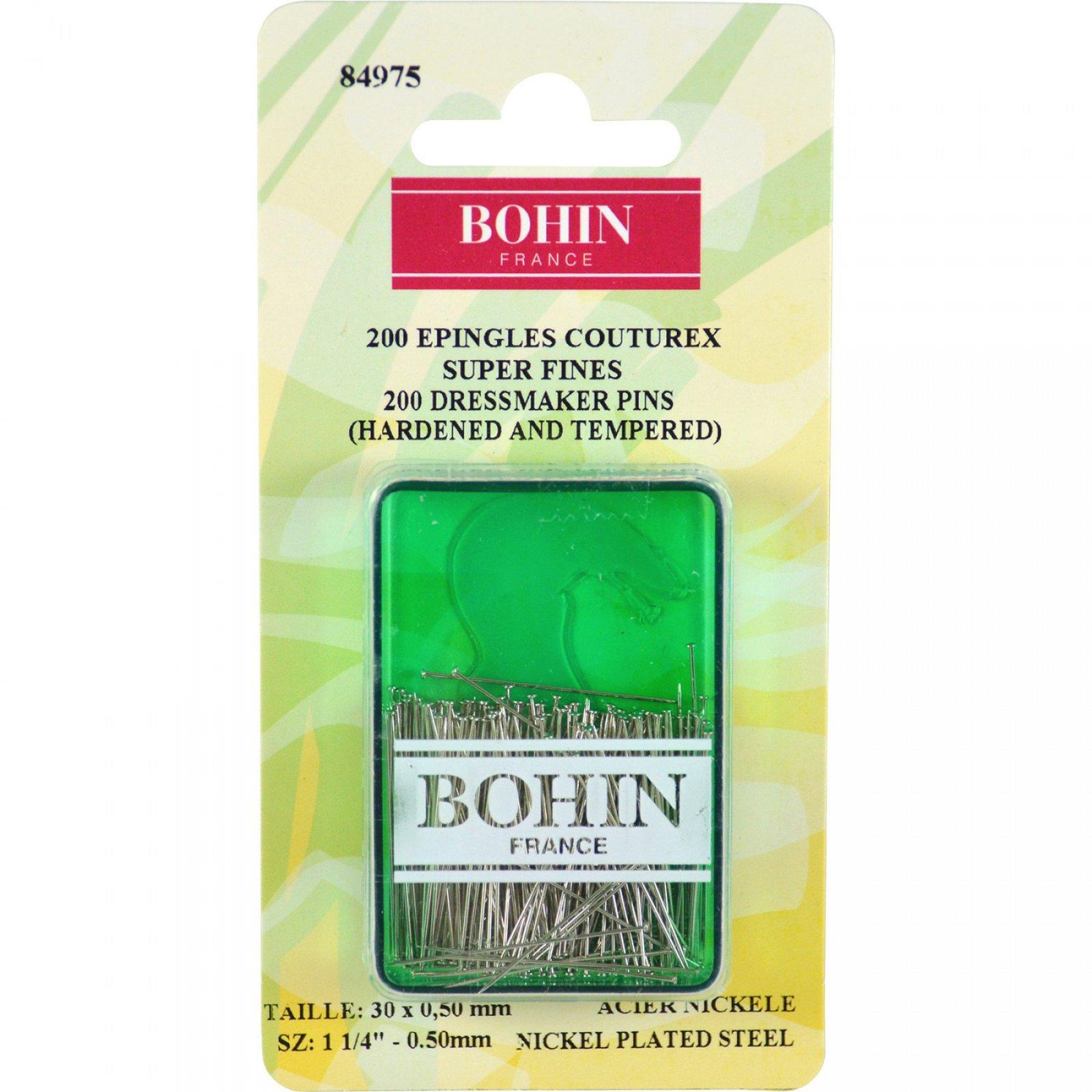 Bohin Super Fine Dressmaker Pins