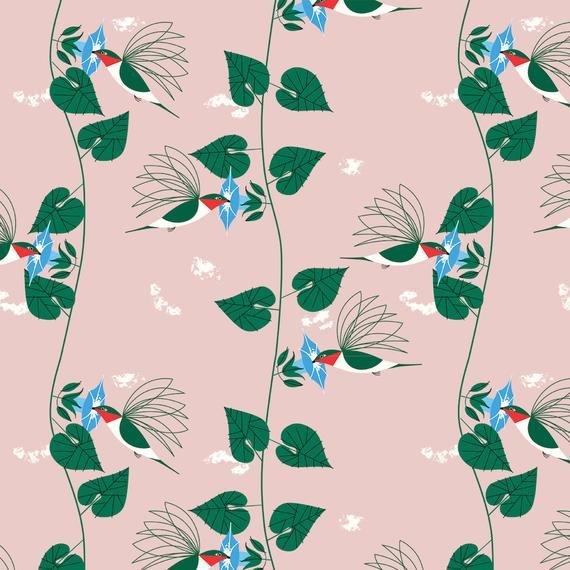 Charley Harper Hummingbirds