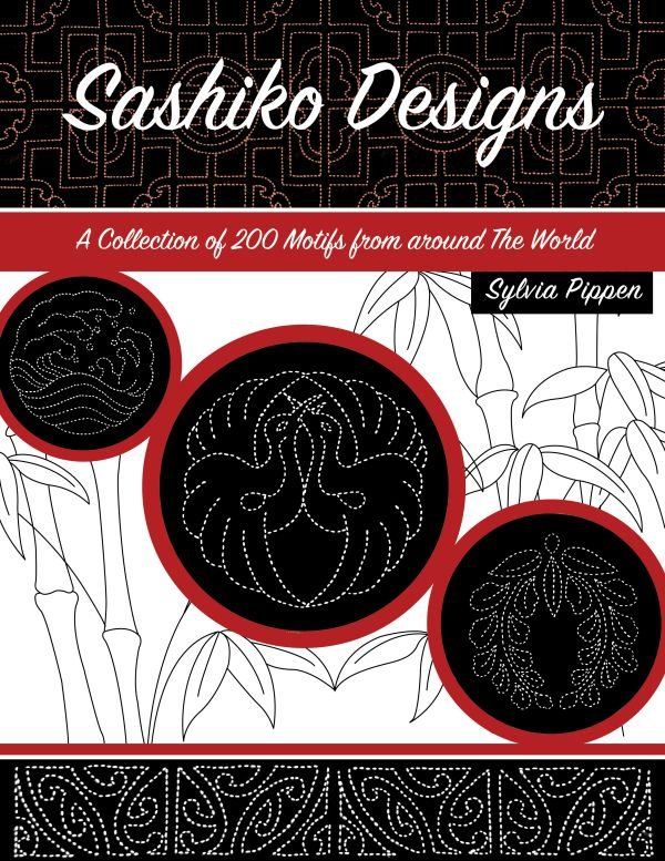 Sashiko Designs Book: A Collection of 200 Motifs by Sylvia Pippen