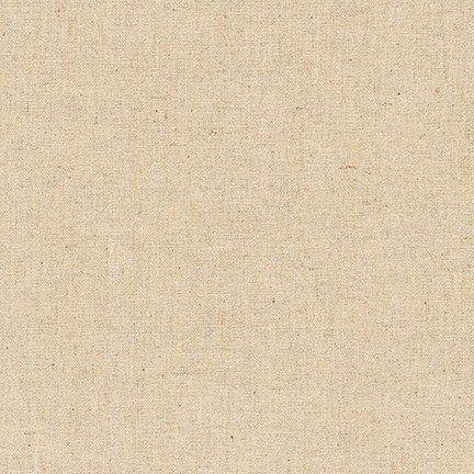 Essex Natural Sashiko Fabric linen/cotton