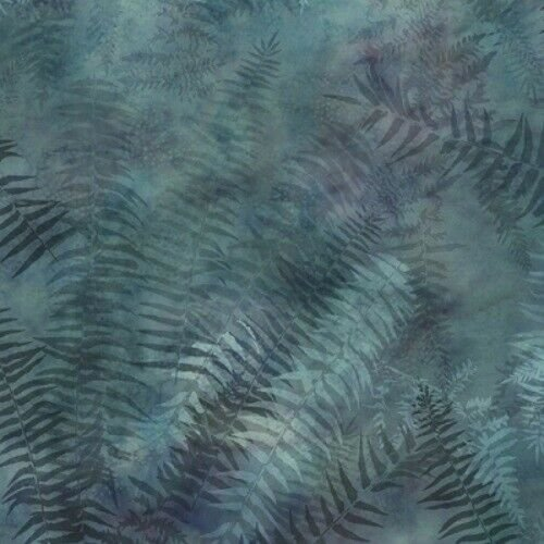 Painted Forest Ferns by McKenna Ryan for Hoffman Fabrics