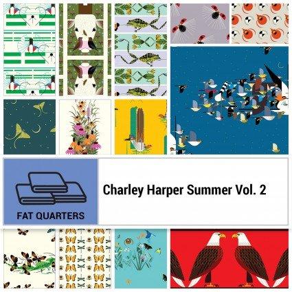 Charley Harper 13 piece Summer Vol. 2 FQ Bundle