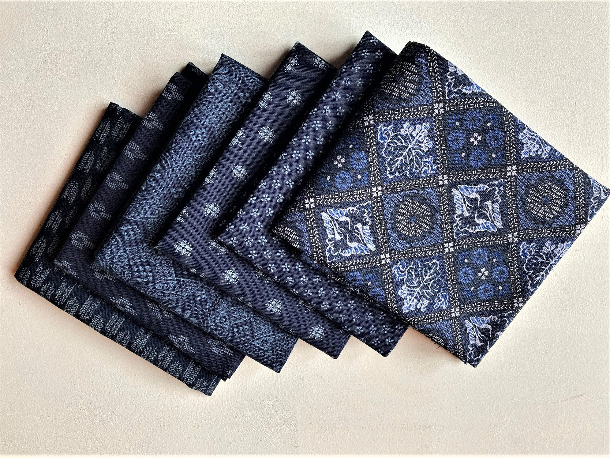 Cosmo 6 Fat quarter Bundle of small Japanese prints