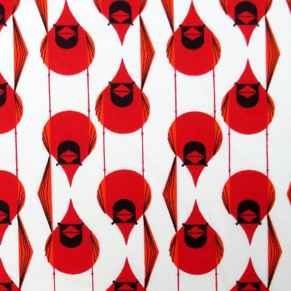 Charley Harper Cardinal Stagger