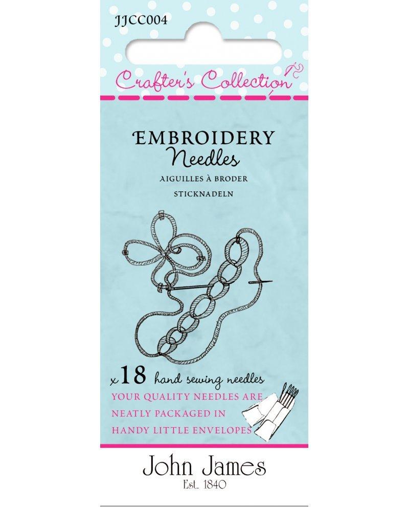 John James Embroidery Needles