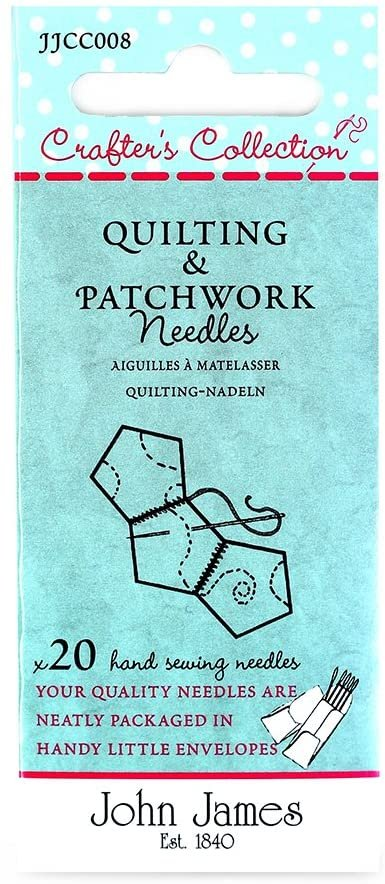 John James Crafter's Collection Quilting & Patchwork Needles