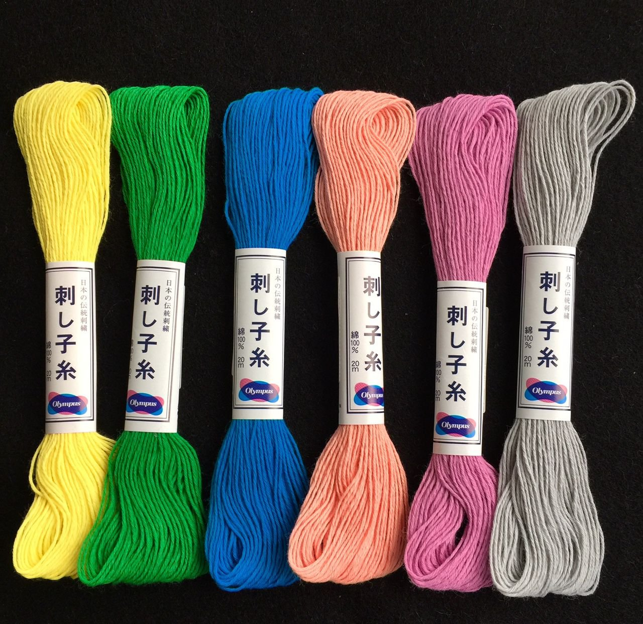 Olympus Sashiko Thread Solids (22 Yds)