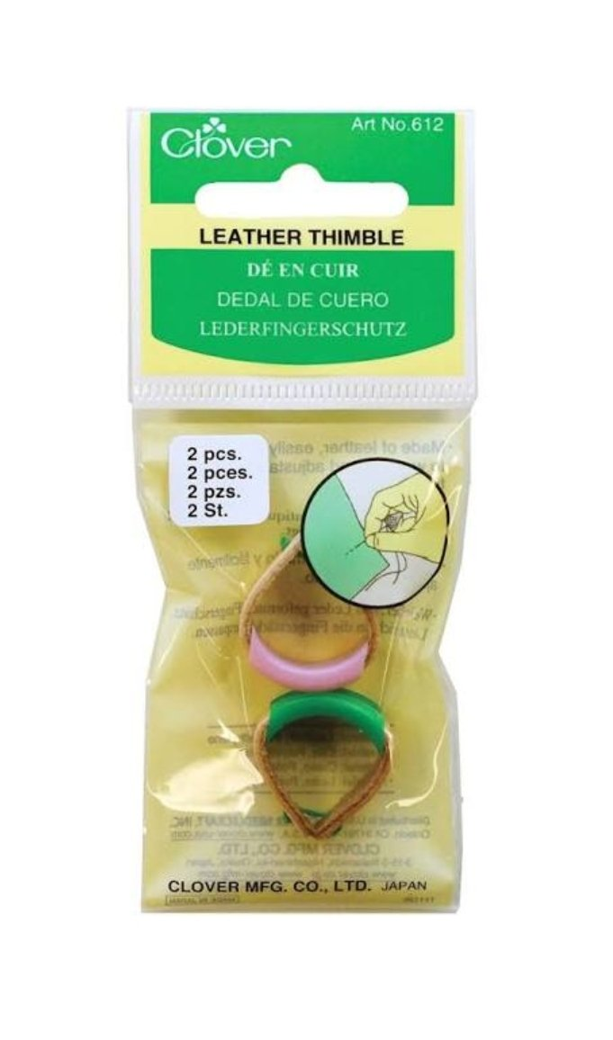 Clover Leather Thimbles