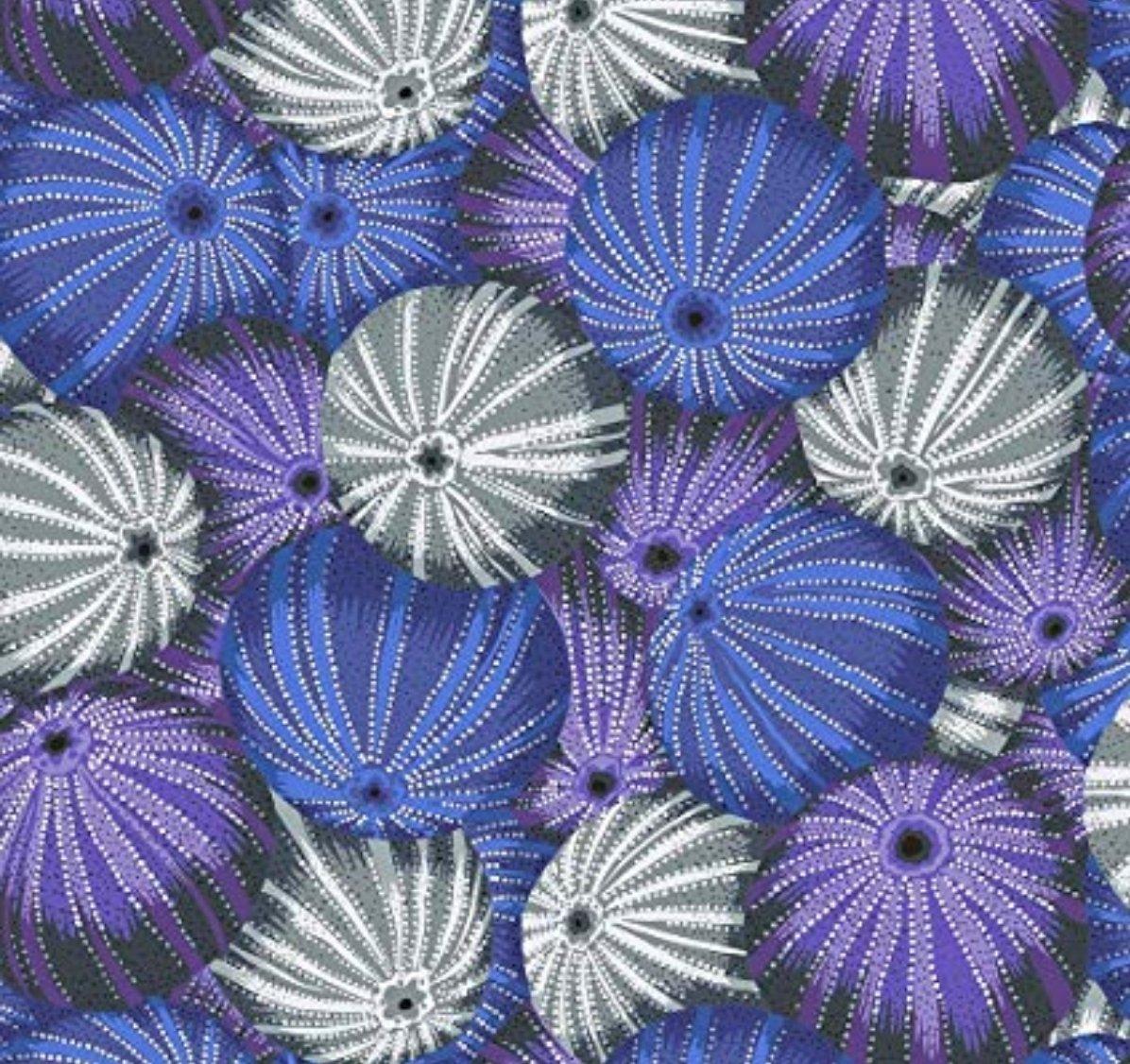 Sea Urchins Grey - Kaffe Fassett Collective