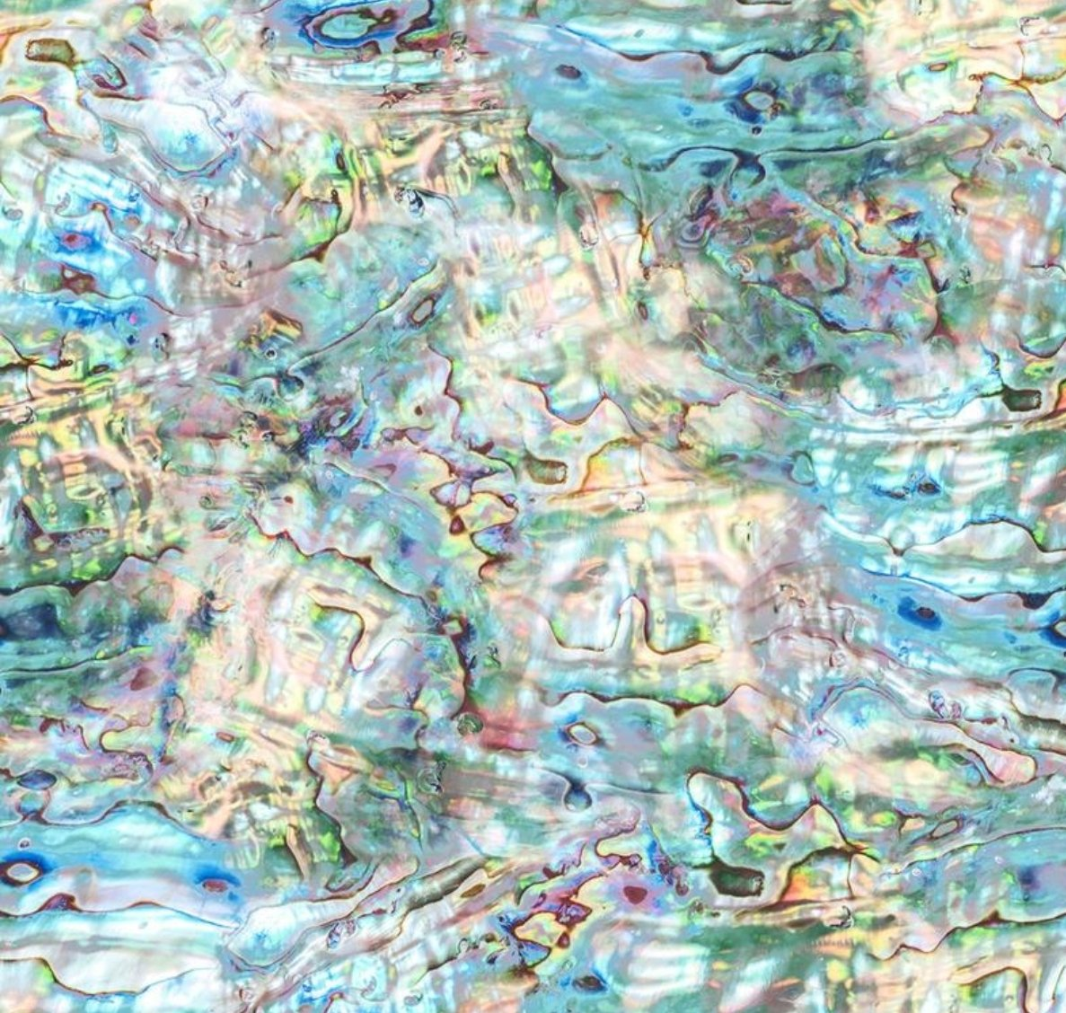 Nature's Narratives Abalone Color 132 Opal by Hoffman Fabrics