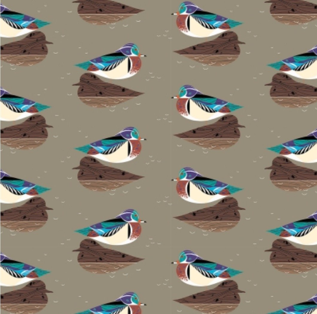 Charley Harper Lakehouse Vol.1 CH 140 Wood Duck