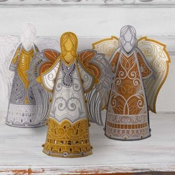 OESD FREESTANDING HEAVENLY ANGELS EMBROIDERY CD 12816