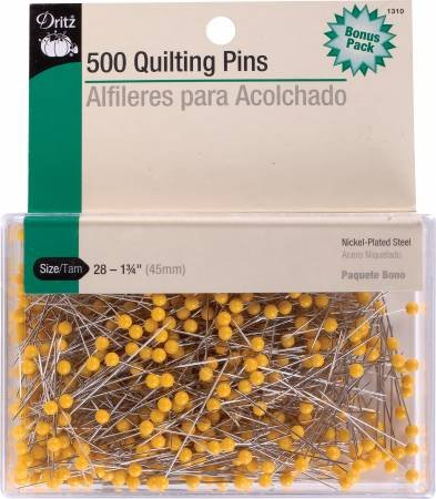 DRITZ QUILTING PINS 500 PACK 1.75 1310