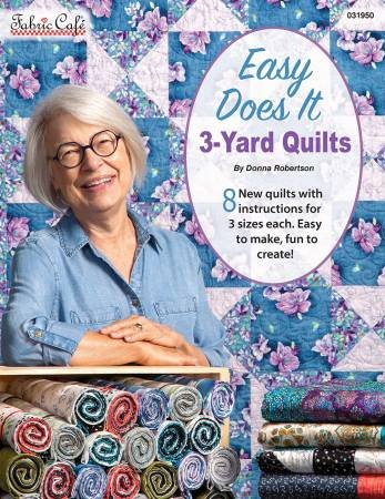 EASY DOES IT 3-YARD QUILTS 031950