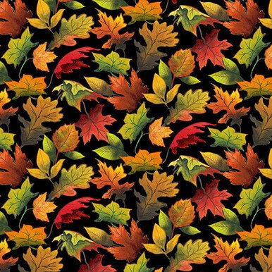 FALL DELIGHT - AUTUMN LEAVES 1528-99