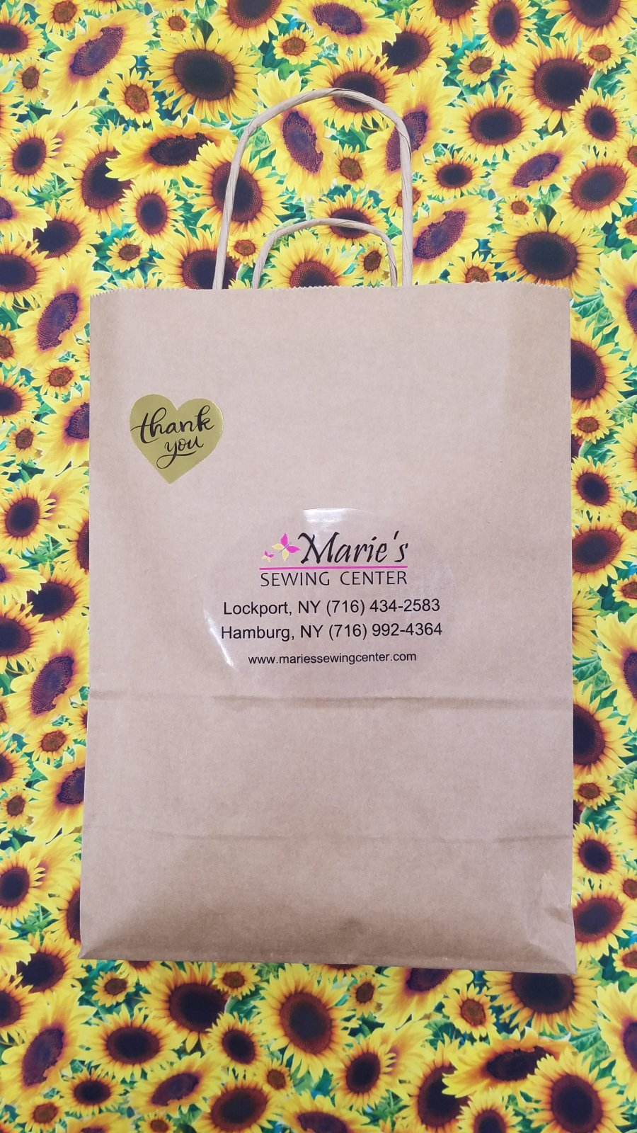 2021 BROWN BAG MYSTERY QUILT KIT - SUNFLOWERS