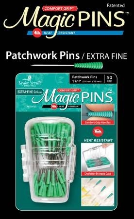 MAGIC PINS PATCHWORK EXTRA FINE  PINS 1 7/16 .4 X 36MM 219584