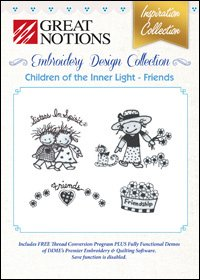 CHILDREN OF THE INNER LIGHT - FRIENDS EMBROIDERY DESIGN INSPIRATION COLLECTION