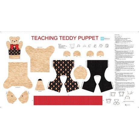 SEW & GO IX - TEACHING TEDDY PUPPET 24 PANEL 27280-A