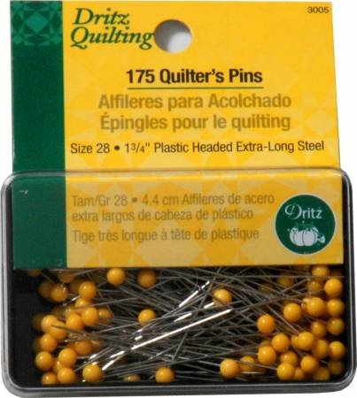 DRITZ QUILTING PINS 175 PACK 1.75 3005