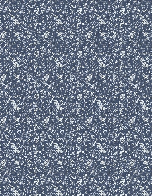 BOHEMIAN BLUE - MINI FLORAL BLUE 17759-441