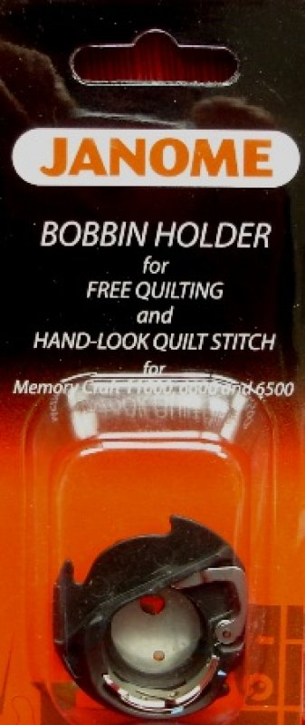 BOBBIN CASE FOR FREE MOTION QUILTING
