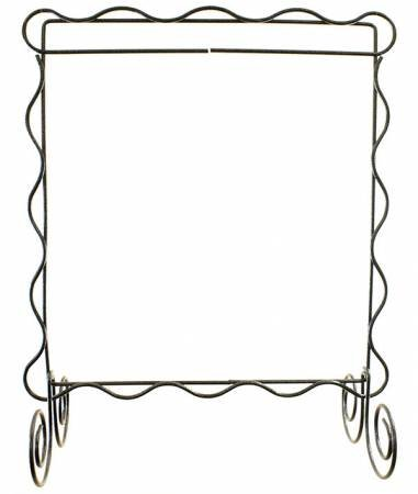 8 x 8 SCALLOPED STAND CHARCOAL 34142
