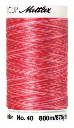 METTLER POLY SHEEN VARIEGATED 4880-9405 STRAWBERRY BLITZ