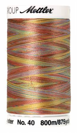 METTLER POLY SHEEN VARIEGATED 4880-9974 COASTAL MIX