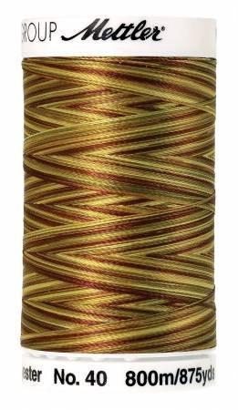 METTLER POLY SHEEN VARIEGATED 4880-9975 GOLDEN HARVEST
