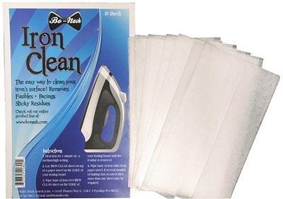 BO-NASH IRON CLEANING CLOTHS 10 SHEETS