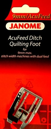 JANOME 9mm DITCH QUILTING FOOT 202087003