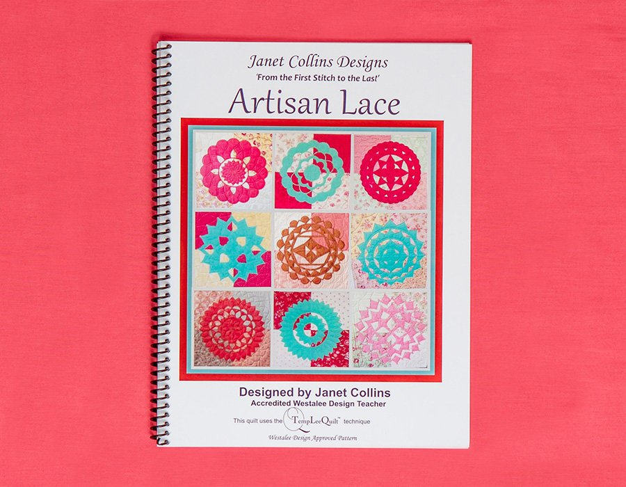 ARTISAN LACE WESTALEE DESIGN BOOK BY JANET COLLINS