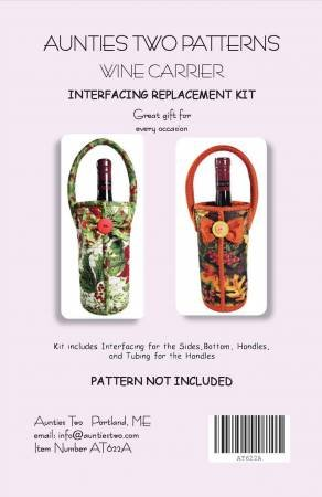 WINE CARRIER KIT INTERFACING REPLACEMENT AT622A