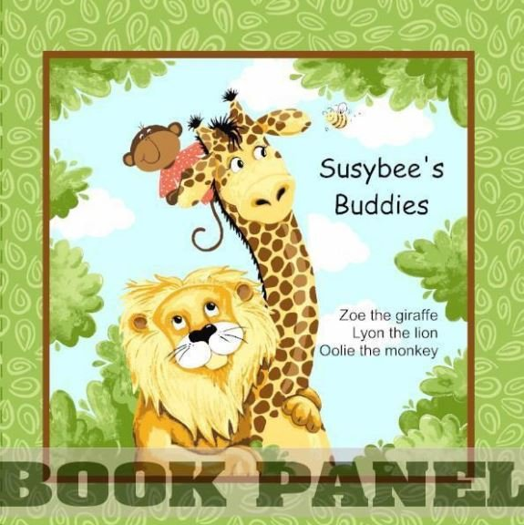 SUSYBEES JUNGLE STORYBOOK