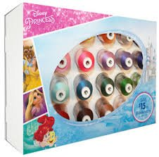 DISNEY PRINCESS THREAD 24 SPOOLS