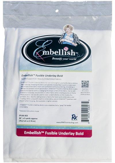 EMBELLISH FUSIBLE UNDERLAY BOLD EFUB-303