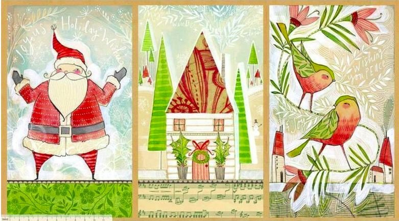 HOLLY JOLLY - SPIRIT TO CREATE LARGE PANEL