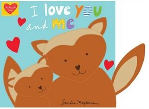 HUGGABLE AND LOVEABLE  I LOVE YOU BOOK 3374P-1