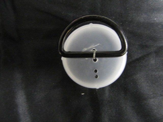 30mm Black D Ring