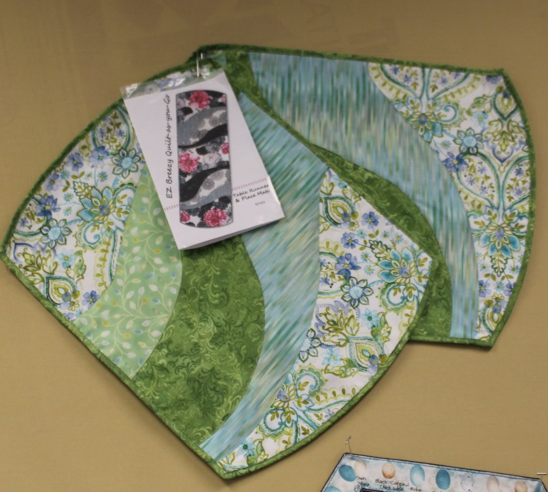 Ez Breezy Quilt As You Go Table Runner Or Place Mats Lockport