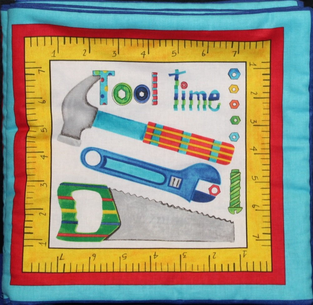TOOL TIME CLOTH BOOK