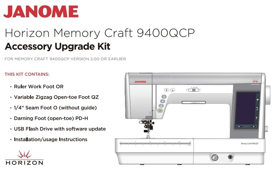 Janome MC9400 Upgrade Kit