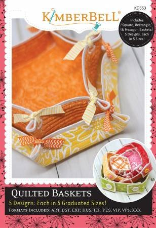 QUILTED BASKETS  KIMBERBELL KD553