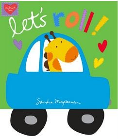 HUGGABLE AND LOVEABLE  LETS ROLL BOOK 3371P-1